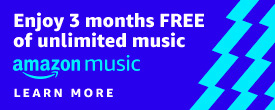 Promo for 3 months free on Amazon Music Unlimited with the purchase of Echo Devices