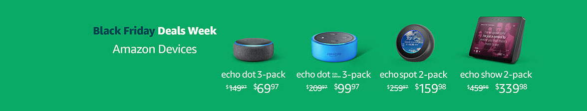6 all-new Echo devices announced with promo codes at Amazon