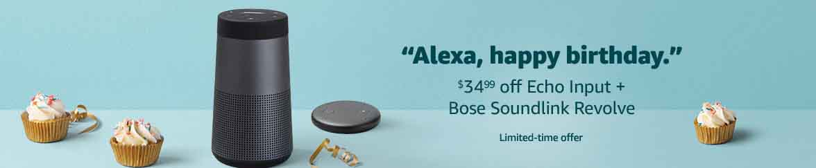 new Echo devices announced with promo codes at Amazon