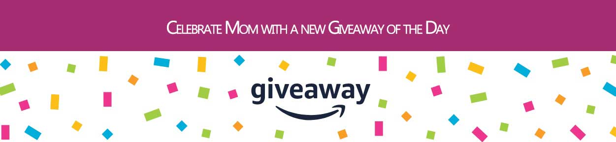 DAILY GIVEAWAY THROUGH THE AMAZON APP