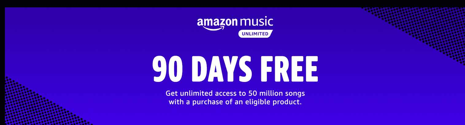 FREE 3 MONTHS AMAZON MUSIC UNLIMITED