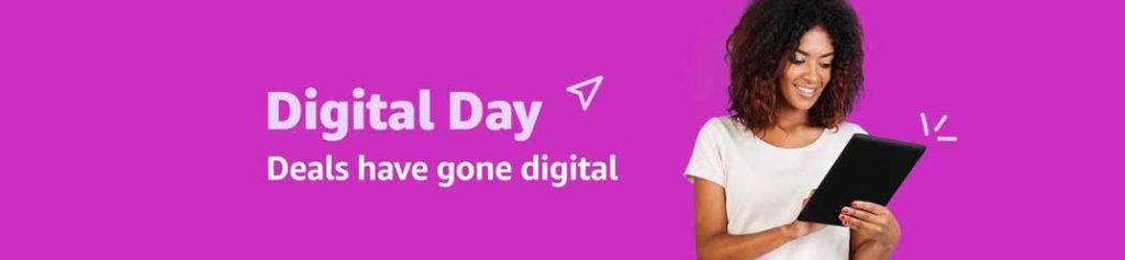 THE THIRD ANNUAL DIGITAL DAY PROMO AT AMAZON.COM