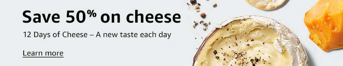 Amazon Whole Foods 50% off savings on a different cheese