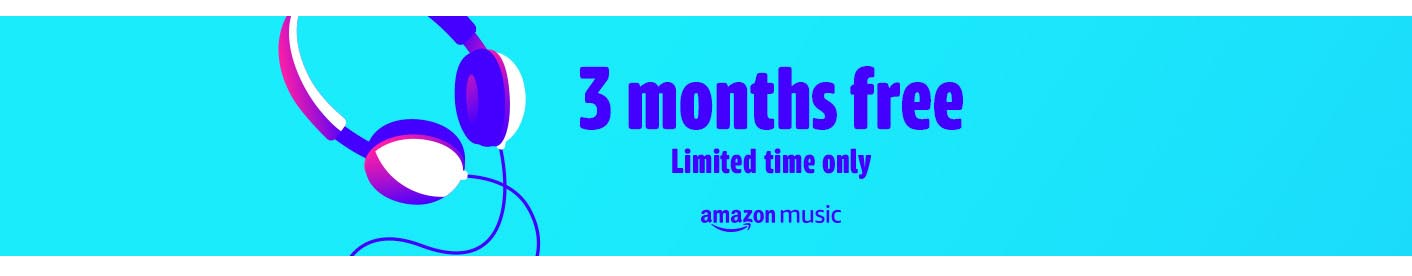 PROMO FOR $0.99 3 MONTHS AMAZON MUSIC UNLIMITED
