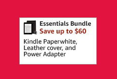 MONTHLY PROMOS FOR AMAZON KINDLE PAPERWHITE BUNDLE