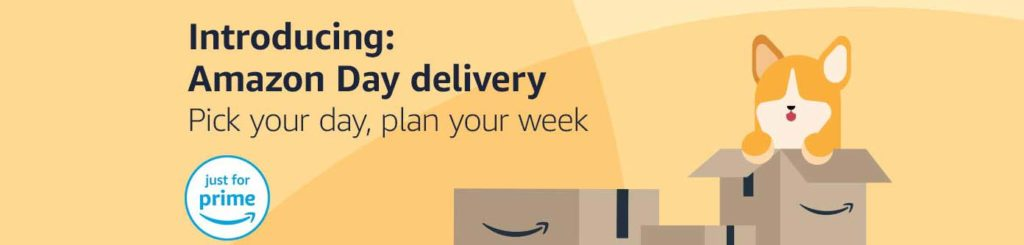 WHAT'S THE PROMO OF AMAZON DAY DELIVERY WITH PRIME MEMBERSHIP