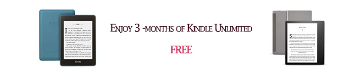 3 months of Kindle Unlimited FREE