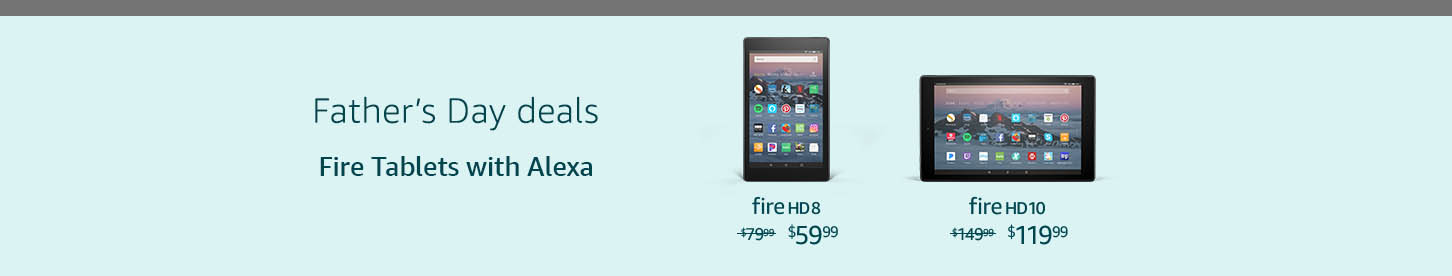 Monthly promos on Amazon Fire tablets