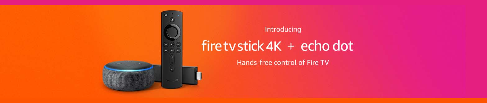 Promos for Fire TV Cube /Fire TV Stick/Fire TV Stick 4K and more
