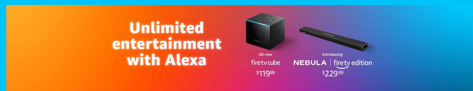 Holiday Promos for Fire TV Cube