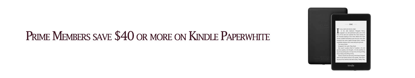 promos for Amazon Kindle Paperwhite