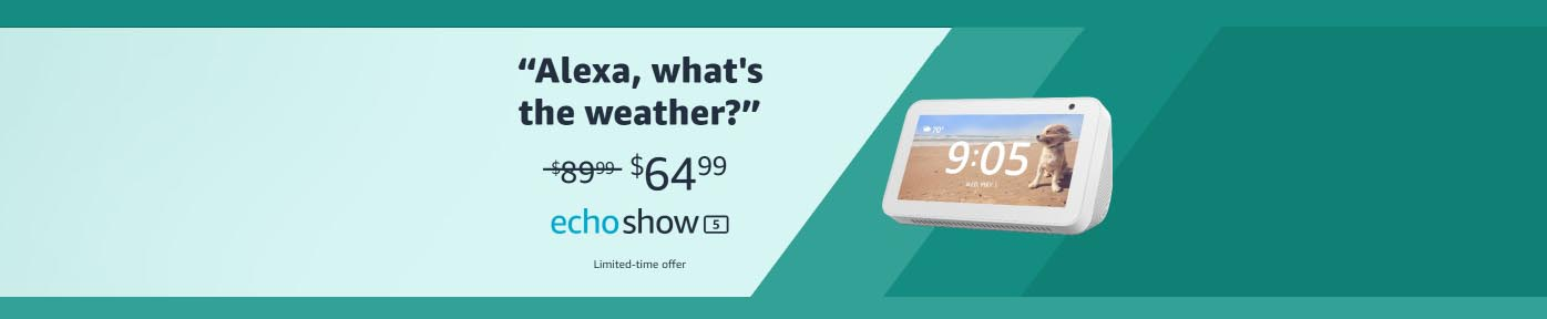 promo codes for Echo Show