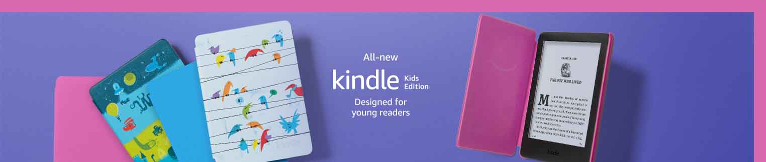 promo for Kindle Kids Edition