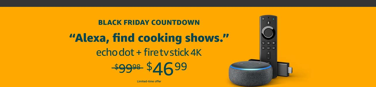 Promos for Fire Fire TV Stick 4K