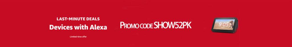 Echo Show promo code