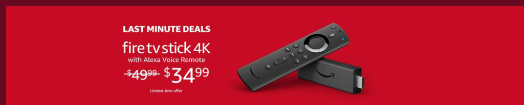 promo for Fire TV Stick 4K