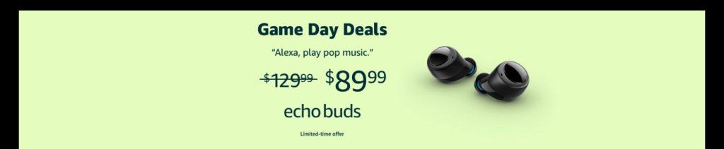 Echo Buds promo code