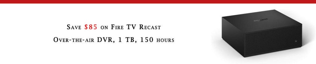 Fire TV Recast promo