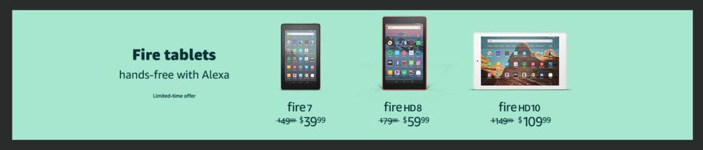 Amazon Fire promo