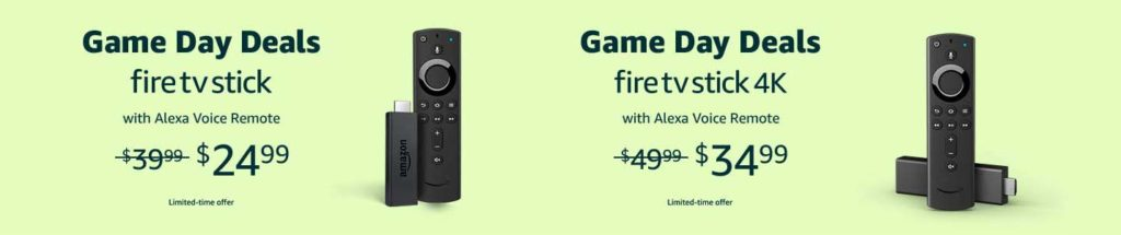FIRE TV STICK promo