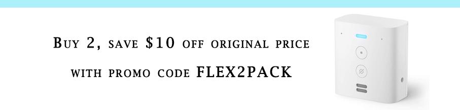 promo code for Echo Flex