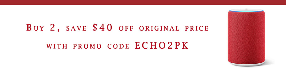 promo code for Echo