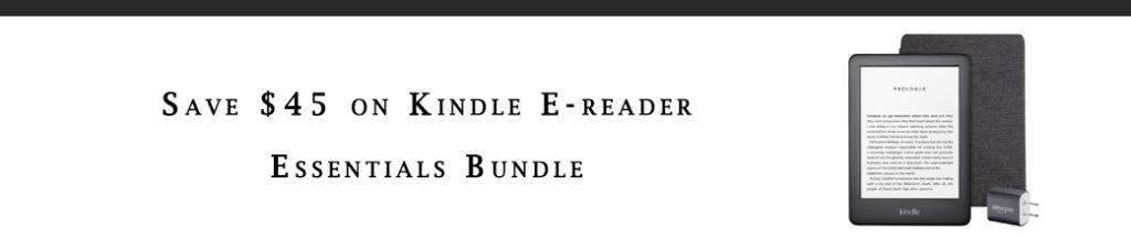 Kindle bundle promo