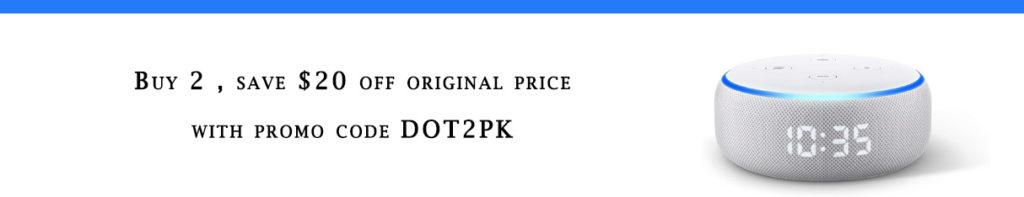 Echo Dot promo code