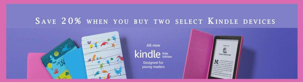 Kindle Kids Edition promo