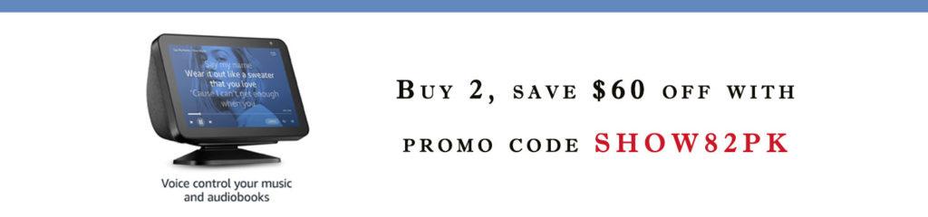promo code SHOW82PK