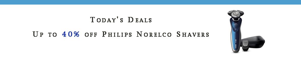 Philips Norelco promo