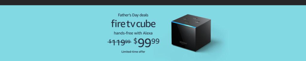 Fire TV Cube promo