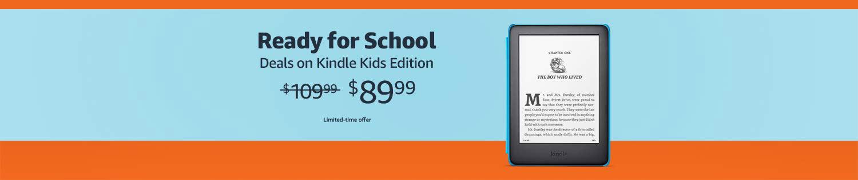 Amazon Kindle kids devices