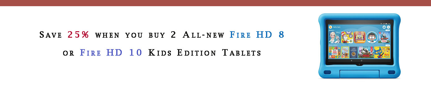 Fire tablets promos