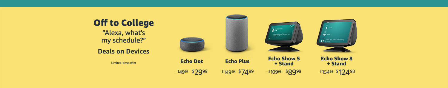 promo codes for Echo Devices