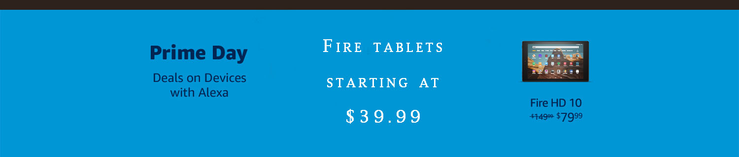 Fire tablets PROMO