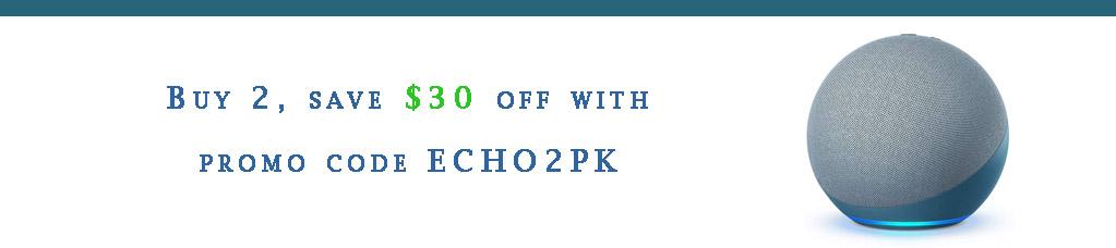 Echo device promo codes