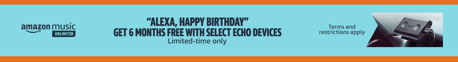 Echo device promos