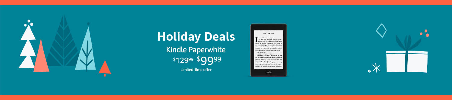 Monthly promos for Amazon Kindle devices