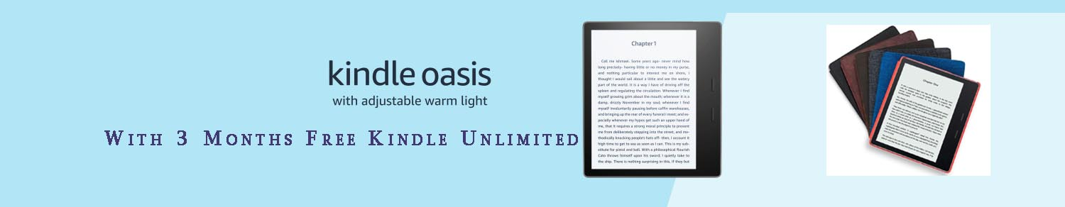 Kindle Oasis promos