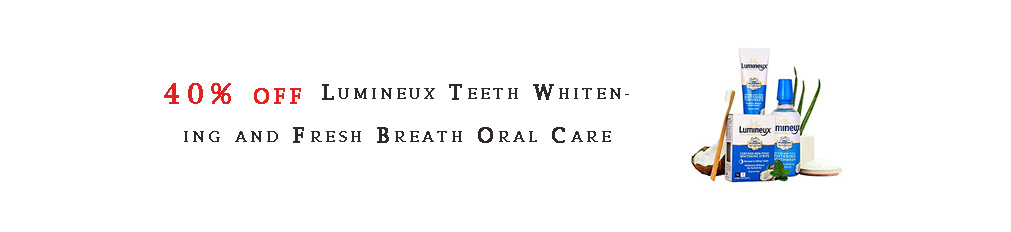 Lumineux Teeth Whitening and Fresh Breath Oral Care