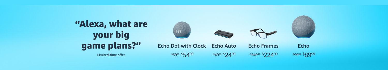 Echo devices promos