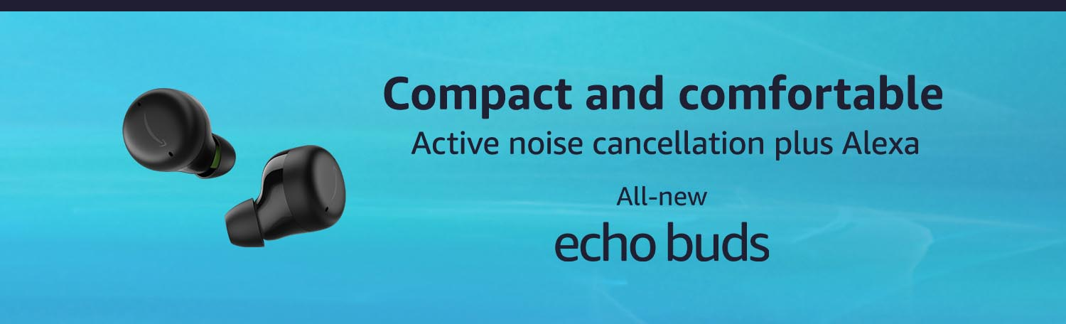 All-new Echo Buds