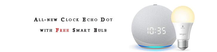 Clock Echo Dot