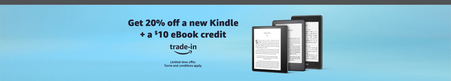 Kindle devices promo