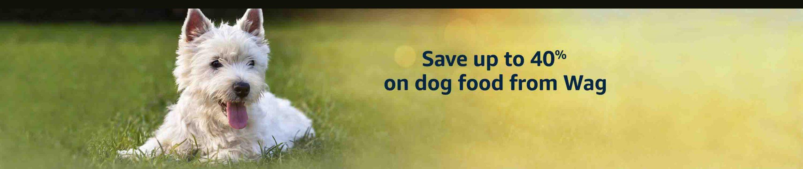 Amazon Brand - Wag Dry Dog Food
