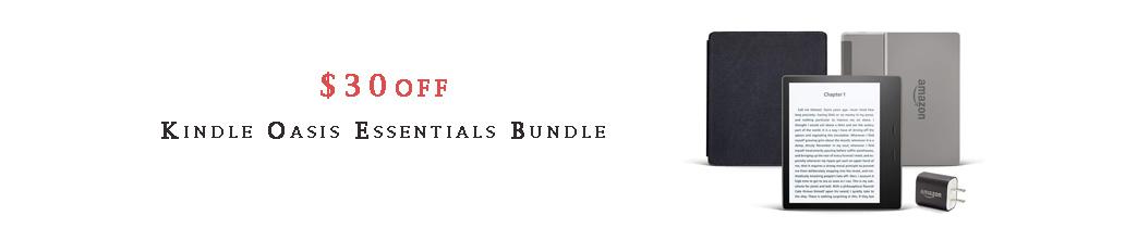 Kindle Oasis Bundle promo