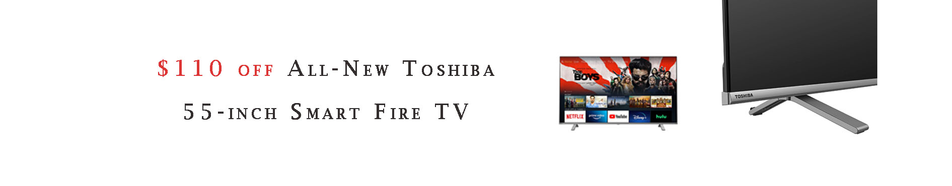 Promos for Fire TVs