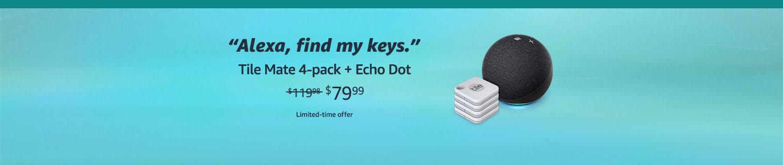 Echo Dot promo