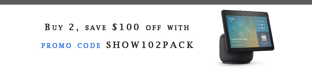promo code SHOW102PACK